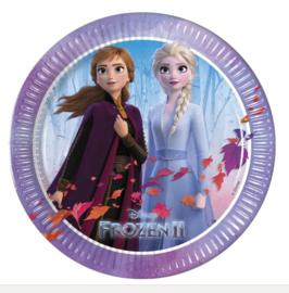 Frozen 2 bordjes 6 stuks 20cm