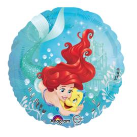 Ariel en Botje folie ballon 45cm