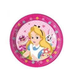 Alice in Wonderland borden verjaardag