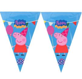 Peppa Pig vlaggenlijn 3m