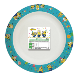 Minions borden composteerbaar 8 stuks 24cm