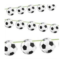 Voetbal slinger 12m