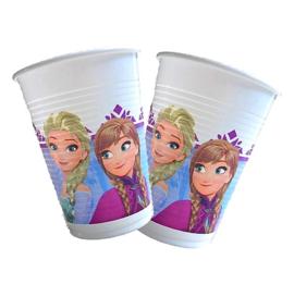 Plastic bekers Frozen 6 stuks