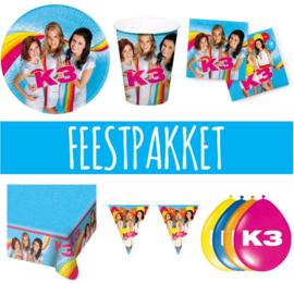 K3 feestpakket 8 personen