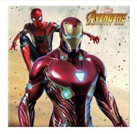 Avengers servetten 20 stuks 33x33cm