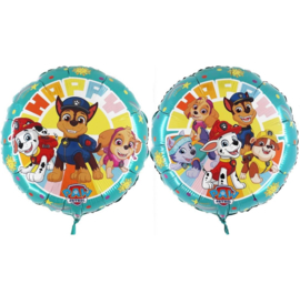 Paw Patrol folie ballon 46cm