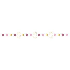 Nijntje slinger roze 3m