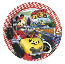 Mickey Mouse borden 8 stuks 23cm