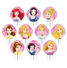 Prinsessen eetbare prikkers 12 stuks