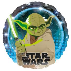 Star Wars Yoda folie ballon 45cm