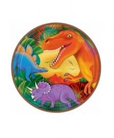 Dinosaurus borden verjaardagsfeest