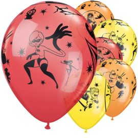 The Incredibles ballonnen 5 stuks