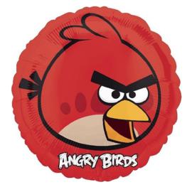 Angry Birds rood folie ballon 45cm
