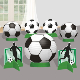 Voetbal versiering tafel set