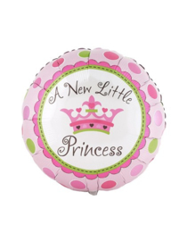Folie ballon baby new little princess