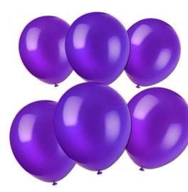Ballonnen paars 10 stuks