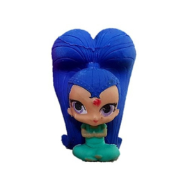 Shimmer and Shine versiering taart 5x3cm