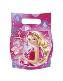 Uitdeelzakjes Barbie 6 stuks