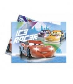 Tafelkleed Cars Ice verjaardag 120 x180