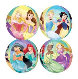 Prinsessen folie ballon rond 41cm