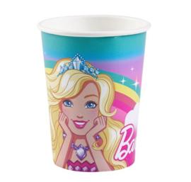 Barbie bekertjes 8 stuks 250ml