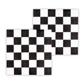 Formule 1 servetten race 16 stuks 33x33cm