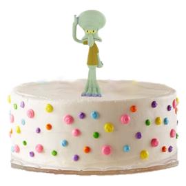 Spongebob Octo taart versiering 6cm