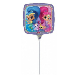 Shimmer and Shine folieballon mini