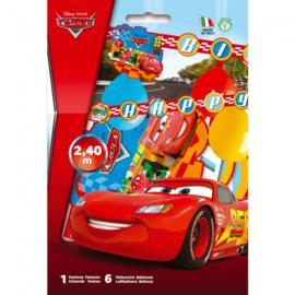 Cars slinger met ballonnen 2,4m