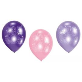 Sofia the first ballonnen 6 stuks