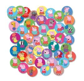 Peppa Pig confetti 2,5cm 30gr