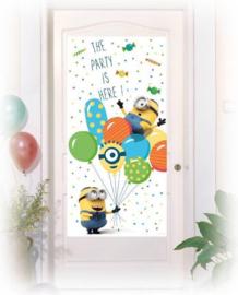 Minions deur banner plastic 75x150cm