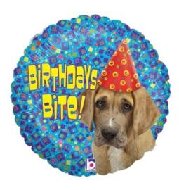 Hond folie ballon 45cm