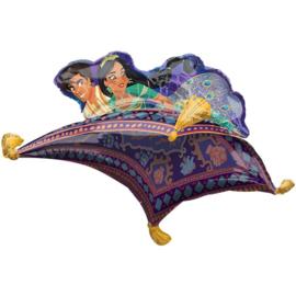 Aladdin vliegend tapijt folie ballon 106cm