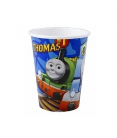 Thomas & friends bekers 8 stuks