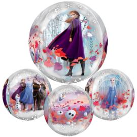Frozen 2 ballon rondvormig 38cm