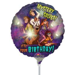 Scooby Doo folie ballon op stok 20cm
