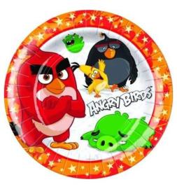 Angry Birds bordjes 8 stuks 18cm