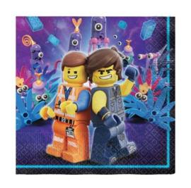 Lego Movie servetten 16 stuks 33x33cm