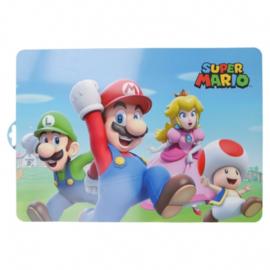 Super Mario placemat plastic 43x28cm