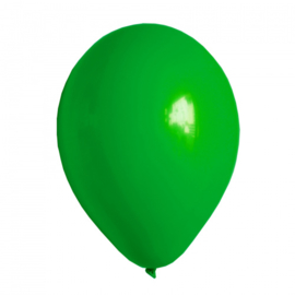 Ballonnen groen 10 stuks