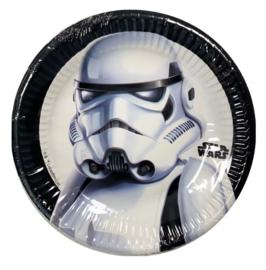 Star Wars Trooper bordjes 8 stuks 19,5cm