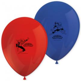 Spiderman ballonnen 8 stuks