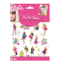 Barbie tattoo stickers