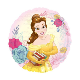 Belle en het beest folie ballon 45cm