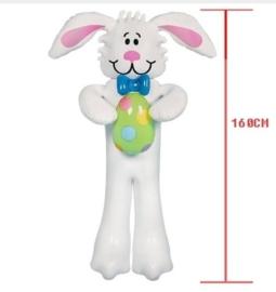 Opblaasbare konijn Pasen