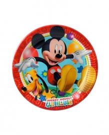 Mickey Mouse borden 8 stuks