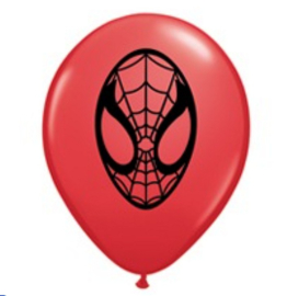 Spiderman ballonnen mini 13cm 5 stuks