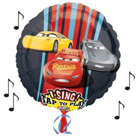 Cars muziek folie ballon 71cm
