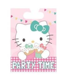 Hello Kitty feestzakjes 8 stuks